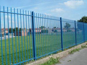 Vertical Bar Railings - RTC Fencing