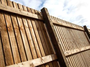 Wooden Fence Paneling in Leicester