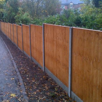 Panel Fencing in Nottingham